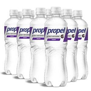 Propel, Grape, Zero Calorie Water Beverage with Electrolytes & Vitamins C&E, 24