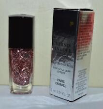 LANCOME Paris En Rose #361 Vernis In Love Pink Gold Top Coat FULL SZ LIMITED NIB
