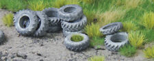 HO scale WAGON LOAD ~ 'TRACTOR TYRES' ~ suit RAILWAY, MODEL TRAIN