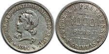 BRESIL 1000 REIS 1911 KM#507