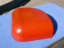 1939 Mills Throne of Music top corner Catalin plastic - red turning orange