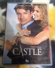 CASTLE complete season 5 DVD set - Nathan Fillion / Stana Katic ABC Studio