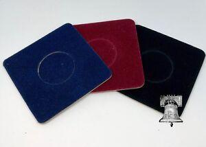 Air-tite Coin Holder Capsule Velvet Display Card Insert Model A Storage Case