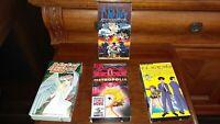 RARE VHS tape set of 4 -Japanese cartoons, English language.