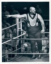 1990 Wrestler Bam Bam Bigelow  Press Photo