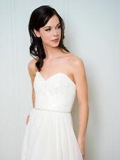 Vintage Rhinestone Wedding Belt Crystal Bridal Sash Wedding Luxury Sash- Leanna
