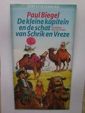 De kleine kapitein en de Schat van Schrik en Vreze- 2cd luisterboek - nieuw in s