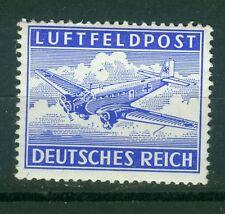 Deutsches Reich  Feldpost  1Ax, 1Ay , 1Az , 1Bx , 1By , ** , Zulassungsmarke