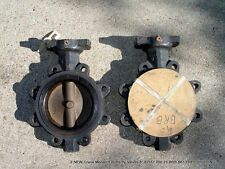 2 NEW Crane Monarch Butterfly Valves 6