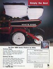 White 6100 Planter Ebay
