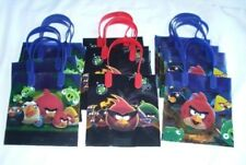 12 pcs Angry Bird Goody Gift Bag Child Birthday Party Favor Bag Filler Supply 🎁