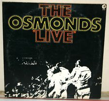 Vintage Album - The OSMONDS LIVE Special Two Record Set No 2SE 4826