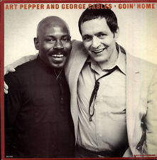 Art PEPPER, George CABLES Goin' home French LP GALAXY 5143
