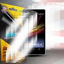 3 x LCD FULL BODY Front + Back Screen Protector Shield Skin For Sony Xperia Z L3