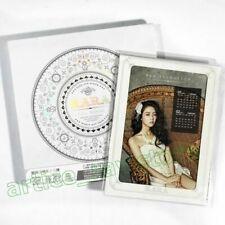 KARA Full Bloom Taiwan CD BOX Hard Package Calendar Gu HaRa Goo Koo 2013 NEW