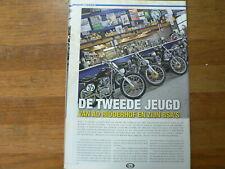 A727- MX MOTOCROSS ARTICLE  AD RIDDERHOF BSA'S,BENNIE JOLINK NORMAAL GOLDSTAR