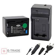 Battery + CHARGER For Canon Legria HF M50 HF M506 HF R306 HF R406 HF-R506 BP-727