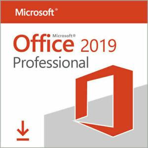 Microsoft Office 2019 Professional PLUS - Kein ABO - RECHNUNG - Lizenz Key - NEU