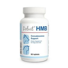 HMB 90 tablets Convalescence Support Natural Recovery muscle tissue Cats & Dogs