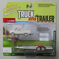 1964 Ford Ranchero Wimbledon White JOHNNY LIGHTNING TRUCK TRAILER DIE-CAST 1:64
