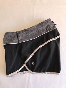 Lululemon Black Speed Short Size 4