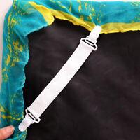 4Pcs Bedspread Bed Sheets Buckle Table Bed Sheets Clip Slip-Resistant Belt