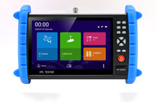 7 Inch H.265 4K IP CCTV tester Monitor CVBS Camera Tester 5MP ONVIF PTZ WIFI POE