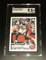 1992 Upper Deck McDonald's #P43 Shaquille O'Neal ROOKIE RC HOF SGC 9.5 BGS XOVER