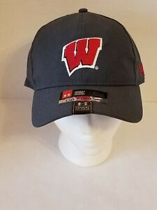 Under Armour Wisconsin Badgers UA Fit Free Adjustable Hat Womens - NWT