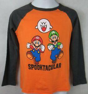 Super Mario Luigi Spooktacular Boys T-Shirt Officially Licensed Jumping Beans