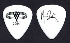 Van Halen Michael Anthony Signature White Guitar Pick - 2004 Tour