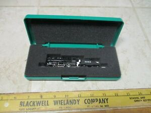 N Scale Bachmann ATSF 0-6-0 Steam Locomotive w/ Slope Tender #3283 Runs Great