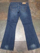 "718 American Eagle 4 sh x 29"" Artist Jeans Low-Rise Stretch Dark Denim EUC"