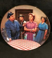 The Honeymooners - Plate from The Hamilton Collection - 1987