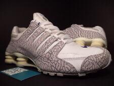 2005 Nike SHOX NZ DELUXE R4 ASIA CEMENT PRINT WHITE ZEN COOL GREY 311377-141 10