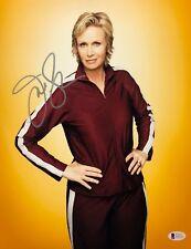 Jane Lynch Signed 'Glee' 11x14 Photo *Sue Sylvester *Comedian Beckett BAS E49761