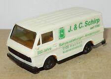 HERPA HO 1/87 VW  VOLKSWAGEN LT J & C SCHIRP AACHEN