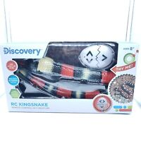 Discovery Kids Remote Controlled King Snake Realistic slithering RC Reptile w...