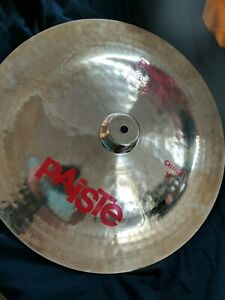 "Paiste 2002 18"" China Cymbal Made In Switzerland"