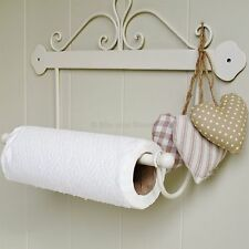 SECONDS Kitchen roll paper towel holder ivory scroll design WAS £12.75