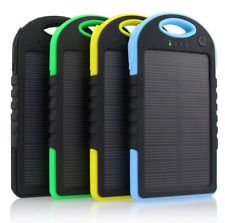 5000mAh Solar charger and Battery Solar panel power bank for cell phone,mp4,ipod