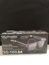 Kamera Brille Bluetooth: Smart Glasses SG-100.bt mit Bluetooth und 720p HD