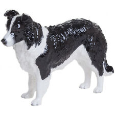 John Beswick Black and White Border Collie Dog Ornament Figure Gift JBD83BW