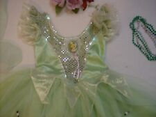 Disney Fairy Tinkerbell Costume Dress Up 4 5 6 6X