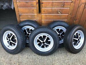 TUDOR WHEELS LTD Vintage Classic Wheel Restoration MGB Sebring MGBGT Rostyle