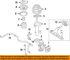 Acura HONDA OEM 14-17 MDX Front Suspension-Strut 51611TZ5A02