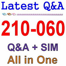 Cisco Best Practice Material For 210-060 Exam Q&A PDF+SIM