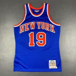 100% Authentic Willis Reed Mitchell Ness 72 73 Knicks Jersey Size 40 M Mens