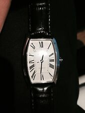 Eberhard & Co. Hyperbole Tonneau #41011CP automatic black wristwatch for sale