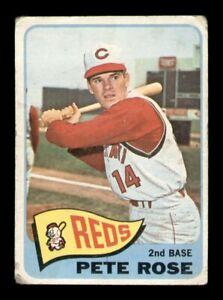 1965 Topps Set Break # 207 Pete Rose LOW GRADE *OBGcards*